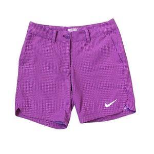 Nike Golf Shorts 4 Dri Fit Tiny Dots Pockets